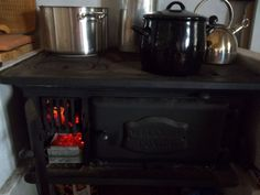 dover wood burning stove - Google Search Wood Burning Cook Stove, Wood Stove Cooking, Coal Stove, Wood Oven, Antique Stove, Camping Stove, One Light, Footprint, New Kitchen