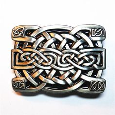 NEW Celtic Keltic Knot Western Cowboy Man Mens Fashion Metal Belt Buckle #KET02 #Casual