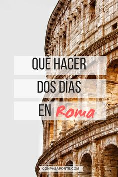 Planea bien tu tiempo con este itinerario y mapa interactivo para ver lo MEJOR DE ROMA en sólo dos días. ¡Sí, es posible! y yo te digo como organizar tus dos días, hora por hora, y en qué orden. No te pierdas esta guía exclusiva, que te ahorrará no sólo tiempo sino también dinero!   #Roma #europa #europe #italy #italia #viajar #consejos #mapas #itinerario #2dias Cinque Terre, Verona, Pisa, Tower, Travel Blog, Maps, Tinkerbell, Places To Travel, Interactive Map
