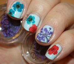 Ciate Flower Manicure #ciate #flowermanicure #flower #manicure #rijahdk #nailart #neglelak #nailpolish
