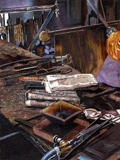 The Glassblowers Studio- Carole Bardes