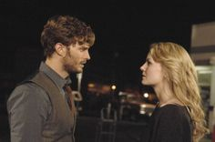 Once Upon a Time: Jamie Dornan as Sheriff Graham, Jennifer Morrison as Emma Swan