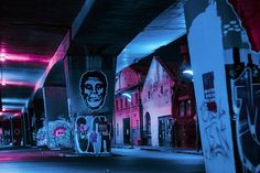Johannesburg, la nuit, sous les néons   Mardi Insta   The Creators Project