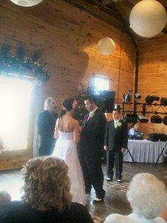 Glen and Christine's wedding. Image taken at the Eesley Place in Plainwell, MI