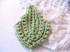 Katty's Cosy Cove: Free Beautiful Crochet Leaf Pattern.