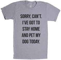 Heather 'Pet My Dog Today' Tee