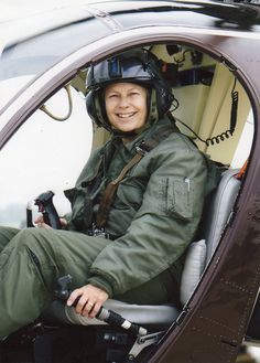 First Female Law Enforcement officer to become a helicopter pilot Patrice Mullins(now Billings), author and speaker