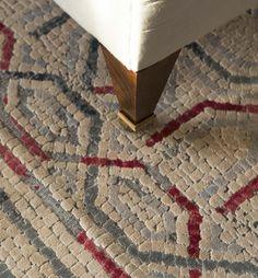 The Claudius rug inspired by ancient floor mosaic– Luke Irwin