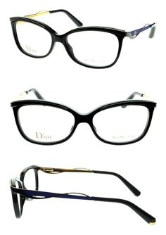 8c76592e54fc Christian Dior Women s Eyewear Frames CD 3280 53mm Black Blue 8LB