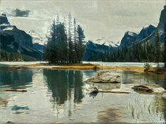 @giancarinaldi: spirit island #JasperNationalPark Alberta