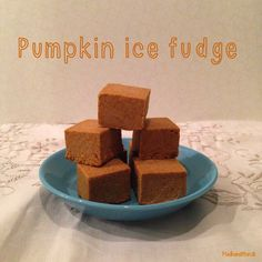 Pumpkin fudge LCHF