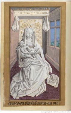 Heures à l'usage de Rome. Publication date : 1450-1475 Type : manuscript Language : latin