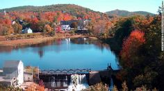 New England towns are enveloped in bright leaves during the fall. Sit back and soak up the scenery on a train ride.