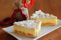 Sypaný koláč s pudinkem | Vaříme doma