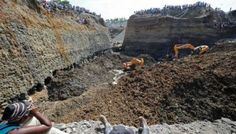 13 missings and three dead in collapse of mine in Clombia @India News