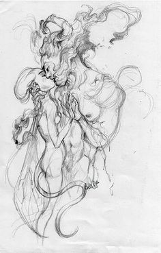 Love in fantasy world pencil art ใ น ป 2019 графика искусство แ ล ะ рисунки Love Drawings, Drawing Sketches, Art Drawings, Fantasy Drawings, Sketching, Character Art, Character Design, Arte Obscura, Psychedelic Art