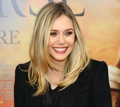 Elizabeth Olsen - Haircut