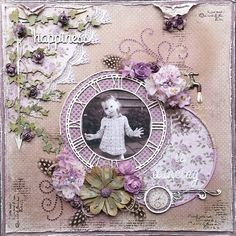 Happiness is Dancing by Amy Voorthuis! DT mid month reveal October 2014 mood board by Rachael Funnell!! At Scrap Around the World <3
