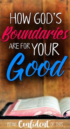 Anything that keeps us from the abundant good God has planned for our lives quickly becomes slavery. His boundaries are better, friends. God's boundaries, sin, obeying God, why God's rules matter, christian living, christian women, abundant life, living God's way, the good life, #GodsWord #obedience #devotional