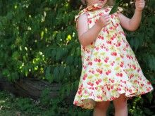 Summer Picnic Dress ~ Free PDF Pattern and Tutorial