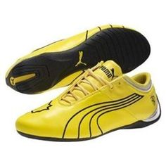 Puma Ferrari Men's Future Cat M1 Big Cat SF Shoes Vibrant-Yellow/BlackItem Features: Material: LeatherSmooth leather upperAsymmetrical lacing system alleviates pressure points on the vampEmbroidered PUMA formstripe and Jumping Cat outline logo detailsSignature Scuderia Ferrari logo shield on outer heelTPU accents on the collar and heel counter for style and supportExtremely low cupsole midsole for low-to-the-ground comfort and feel'