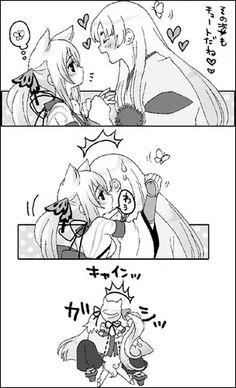 Okami | Amaterasu x Waka