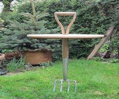 garden fork table