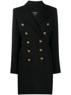 Wool Coat, Balmain, Double Breasted, Lapels, Cashmere, Women Wear, Suit Jacket, Cuffs