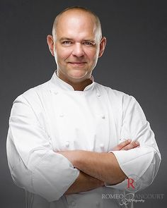 "Romeo Balancourt Paris Photo (@romeobalancourtpro) on Instagram: ""Official portrait of Christophe Moret, executive chef at @shangrilaparis #romeobalancourt #bts…"""