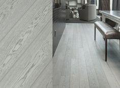 European White Oak Wide Plank Engineered Prefinished Wood Flooring Fossil Oil Finish