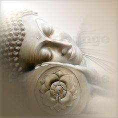 Christine Ganz - Schlafender Buddha