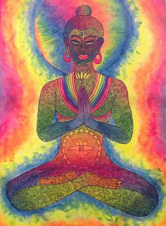 Image discovered by alyssa melodie. Find images and videos about hippie, Buddha and namaste on We Heart It - the app to get lost in what you love. Gautama Buddha, Buddha Buddhism, Buda Wallpaper, Namaste, Acid Trip Art, Third Eye, Buddha Kunst, Buddha Painting, Buddha Artwork