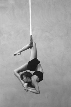 aerial yoga... an opportunity to go deeper into poses without putting strain on your wrists and shoulders.