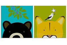 Peek-a-Boo Animal   Yuko Lau Designs website