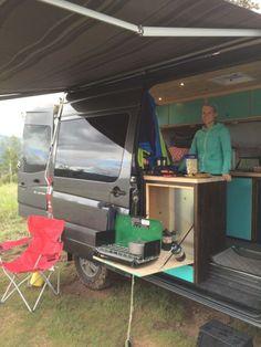 Interior Design Ideas For Camper Van Organization24