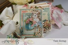 Tati, Easter Tags, Sweet Sentiments, Once Upon a Springtime, Product by Graphic 45