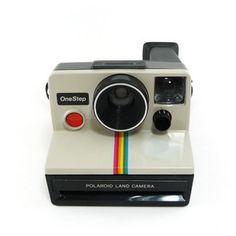 Vintage 1970s Polaroid OneStep land camera