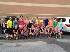 A beautiful Saturday to run 8 miles with my amazing Sisters!