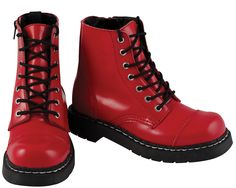 Patent Leather Combat Boot from WetSeal.com...aka &quotJodeci Boots