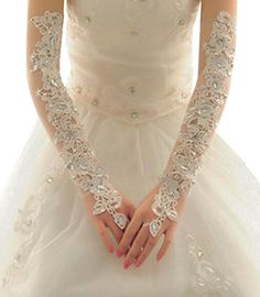NEW Girls 13-16 Short Diamond Pearl Design Gloves Wedding//Sweet 15,16