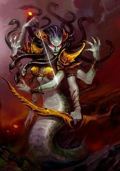 Lady Vashj Title <Coilfang Matron> Naga Sea Witch the naga queen Character class Priestess of the tides Sea witch Healer, Sorcerer Shaman, Mage http://www.wowwiki.com/Lady_Vashj