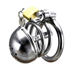 Wholesale - 2016 Latest Design Stainless Steel Male Chastity Devices More Short Cage Urethral Tube Coming Online with $14.66/Piece on Stone77's Store | DHgate.com