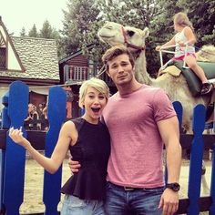 Derek Theler & Chelsea Kane -- adorable. The whole cast of 'Baby Daddy' is just too precious!