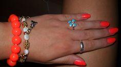 fluorescent hand :)
