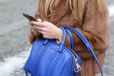 Blue bag by The Czech Chicks on Beauty Walks