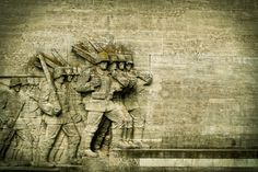 #architecture #arts crafts #commemorate #dsseldorf #favor #foot soldier #germany #historical #history #infantry #memorial #memory #monument #national #national socialism #reminder #rock carving #sculpture #soldiers