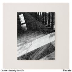 Shop One at a Time Jigsaw Puzzle created by Zinvolle. Postcard Invitation, Make Your Own Puzzle, Custom Gift Boxes, Chipboard, Big Picture, High Quality Images, Your Design, Jigsaw Puzzles, Black And White