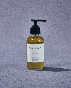 f.miller cleansing oil Wipe Away, Cleansing Oil, Natural Glow, Calendula, Cleanser, Sensitive Skin, Skincare, How To Apply, Cleaning Agent