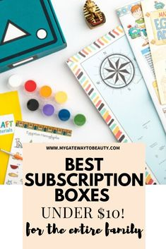 Best Subscription Boxes Under $10 for Everyone In The Family My Gateway To Beauty Blog Best Beauty Subscription Boxes, Beauty Box Subscriptions, Ipsy Glam Bag, Seasonal Nails, Nail Art Supplies, Polymer Clay Miniatures, Craft Box, Stamping Plates, Tight Budget