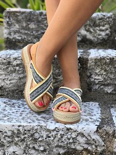 Items similar to OFF Handmade Leather Flatform Espadrille Sandals Denim Outfit, Jute, Espadrilles, Greek, Delicate, Slip On, Pairs, Sandals, Trending Outfits